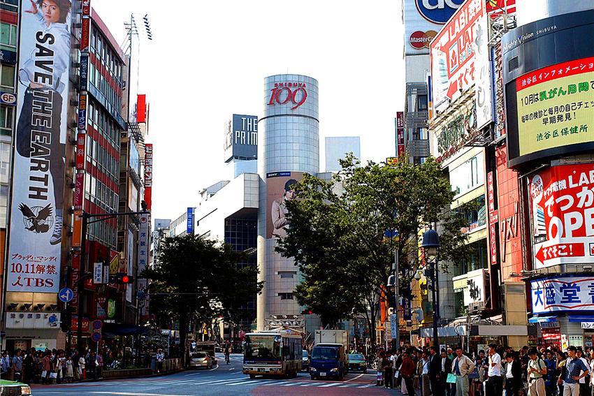 【一日游】时尚购物:涩谷+代官山+新宿御苑+银座
