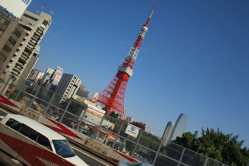 一日游缤纷之旅:东京塔+台场海滨公园+彩虹大桥+调色板城