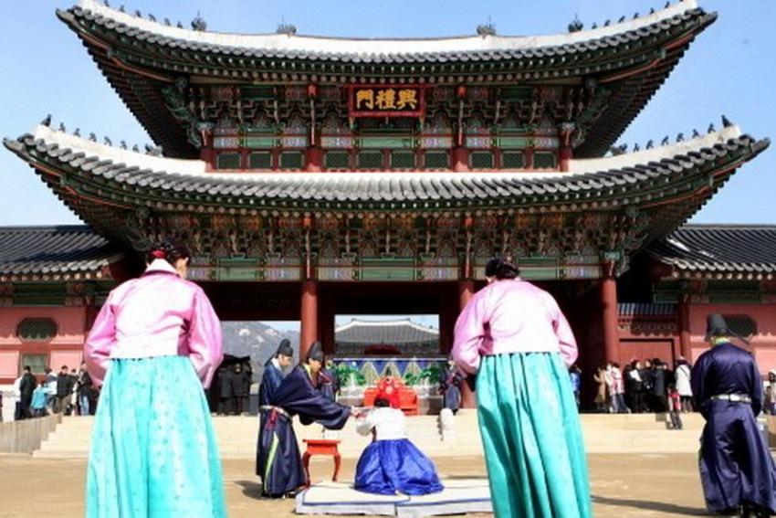 一日游:景福宫+北村韩屋村+乐天+明洞