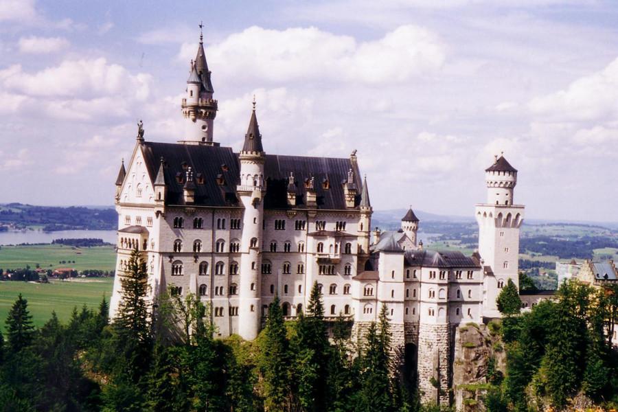 【走进童话里的城堡-慕尼黑天鹅堡一日游】菲森+新天鹅堡+泰格尔山