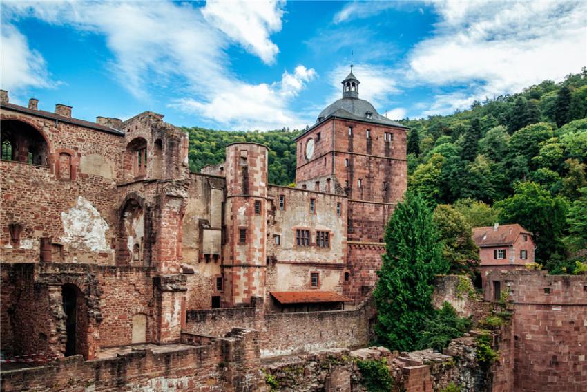 【海德堡一日游】圣灵大教堂+老桥+海德堡大学广场+海德堡城堡