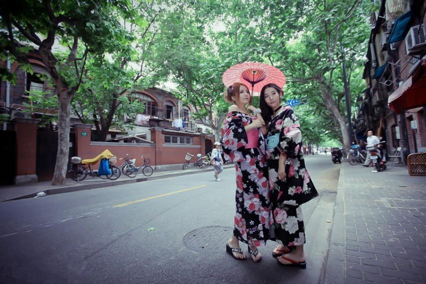 【特色项目】日本浅草和服整体造型体验(提供中文服务)