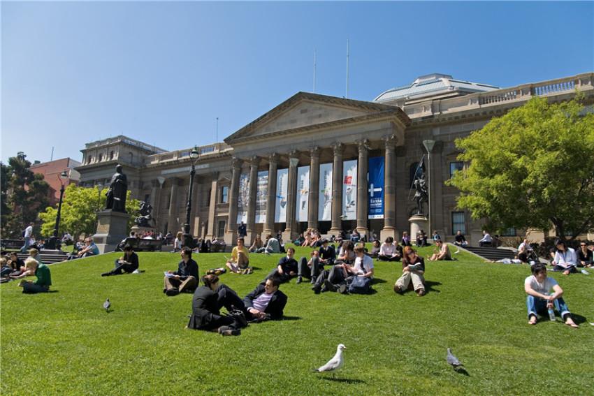 【墨尔本游学一日游】墨尔本大学+维多利亚州立图书馆+墨尔本博物馆