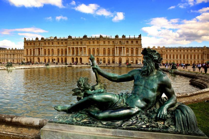 【巴黎艺术之旅】凡尔赛宫+吉维尼小镇