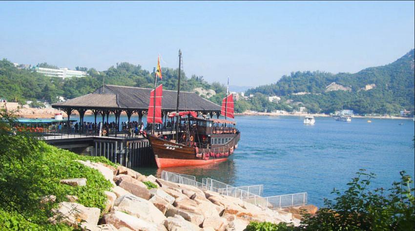 【古风格调】张保仔周末扬帆游——红帆精品游艇带你漫游到赤柱