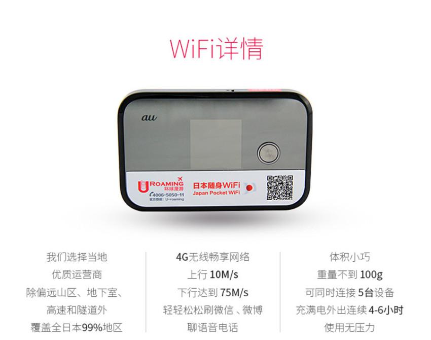 日本wifi租赁 移动随身4G网速 旅游必备egg神蛋