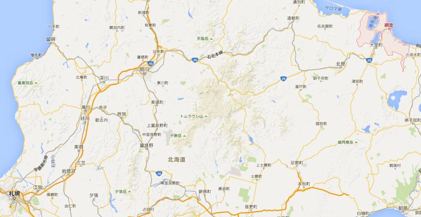 【畅游包车】札幌市区-网走单程包车