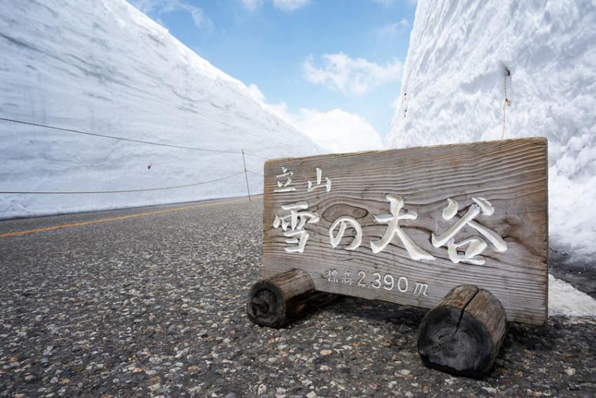 【一生不可错过的体验-立山雪墙探秘之旅】立山黑部二日游:黑部峡谷+立山雪墙+世界遗产白川乡(名古屋往返)