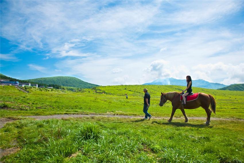 【阿苏一日游】自然极景:天空之道+大观峰+草千里+米塚