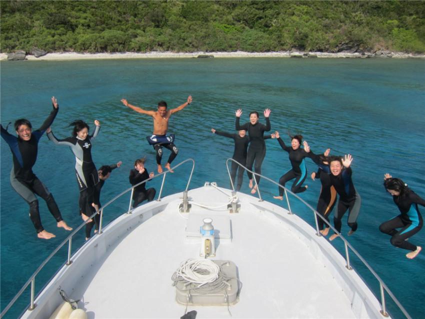 【冲绳离岛潜水体验】庆良间离岛潜水体验