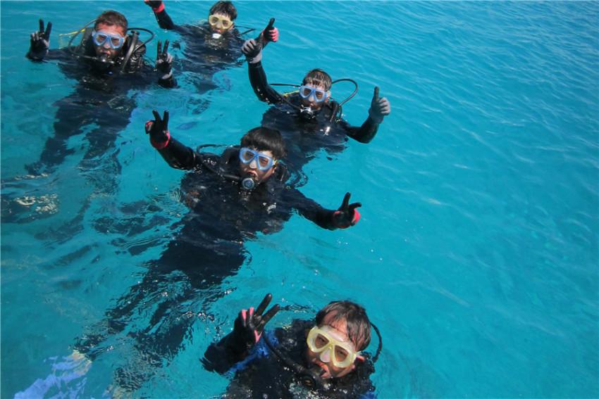 【潜水体验】冲绳北谷町潜水半日游