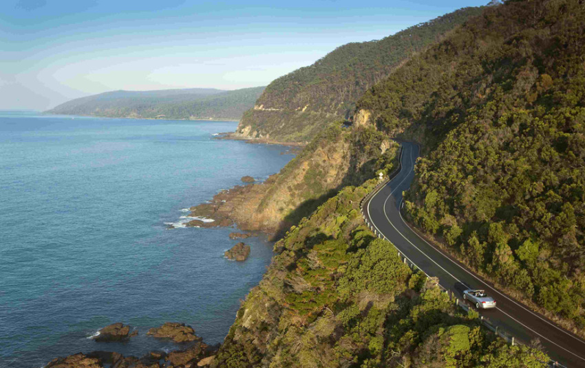 【悉尼蓝色海洋路】巴尔德山观景台+海崖大桥+杰维斯湾观海豚+凯马kiama小城