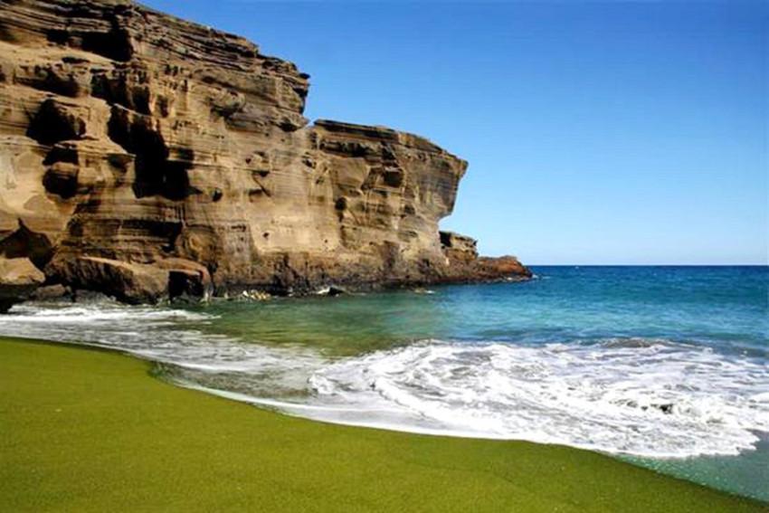 【绿色沙滩】夏威夷大岛绿色沙滩休闲一日游(kona机场或酒店接送)