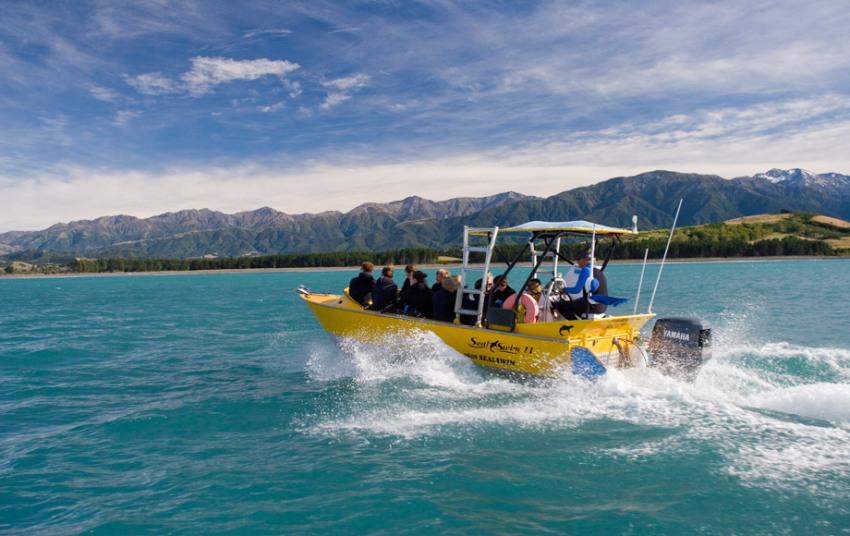 【基督城汉默温泉一日游】喷气艇体验+汉默温泉