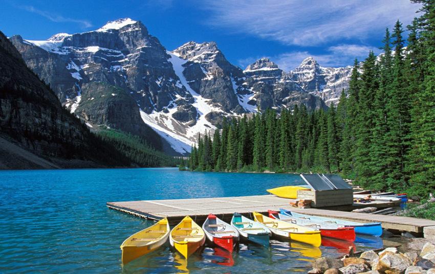 【加拿大班夫滑雪场露易丝湖畅游】2日精致行程:硫磺山+惊喜角Surprise Corner+明尼旺卡湖Minnewanka Lake+露易丝湖滑雪场+露易丝湖