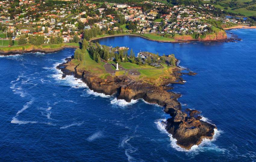 【悉尼卧龙岗一日游】皇家森林公园+蓝色海洋路+南天寺+喷水洞