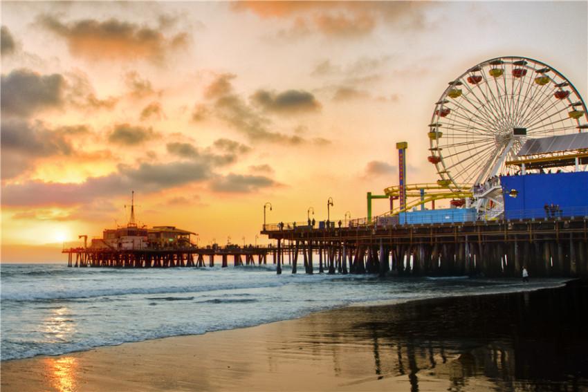 【洛杉矶一日游】璀璨洛杉矶:Santa monica 海滩+好莱坞星光大道+杜莎蜡像馆+比弗利山庄